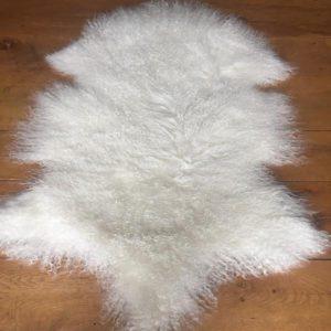 Ivory Tibetan Lambskin