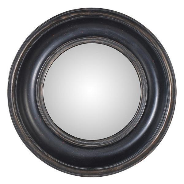 Black Round Mirror Small