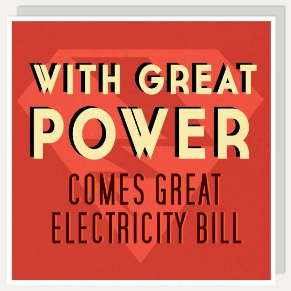 Great Power Card