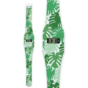 Green Jungle Paper Watch
