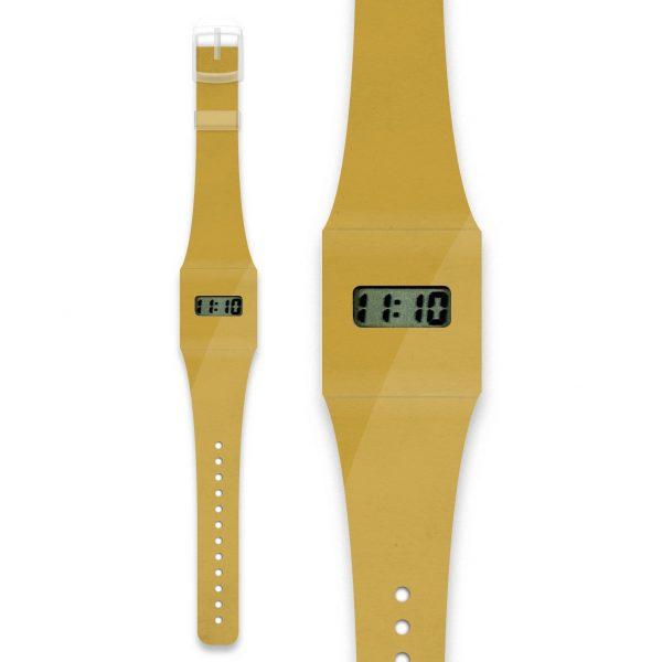 Gold Metallic Paper Watch