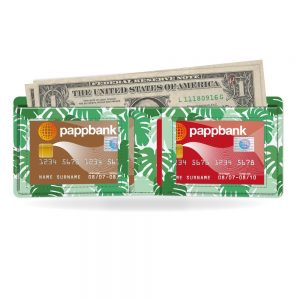 Green Jungle Pappwallet