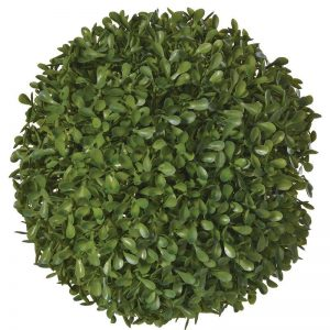 Green Outdoor Boxwood Leaf Ball