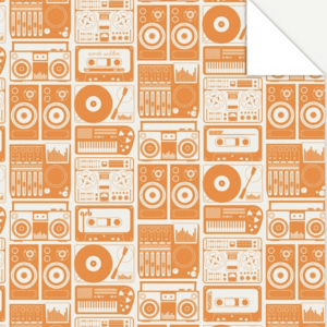 Analogue Nights Wrapping Paper