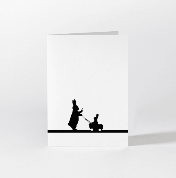 Insta Baby Rabbit Card