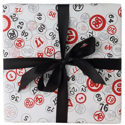 Bingo Counter Gift Wrap