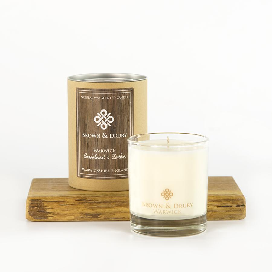 Brown and Drury Warwick Candle