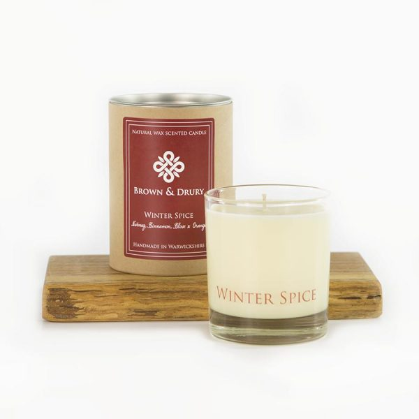 Brown and Drury Winter Spice Candle