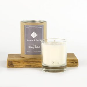 Brown and Drury Zen Candle
