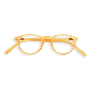 Izipizi #A Reading Glasses (Spectacles) in Yellow Crystal