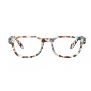 Izipizi #B Reading Glasses (Spectacles) in Blue Tortoise