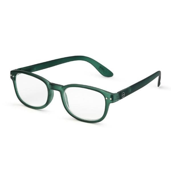 Izipizi #B Reading Glasses (Spectacles) in Green Crystal