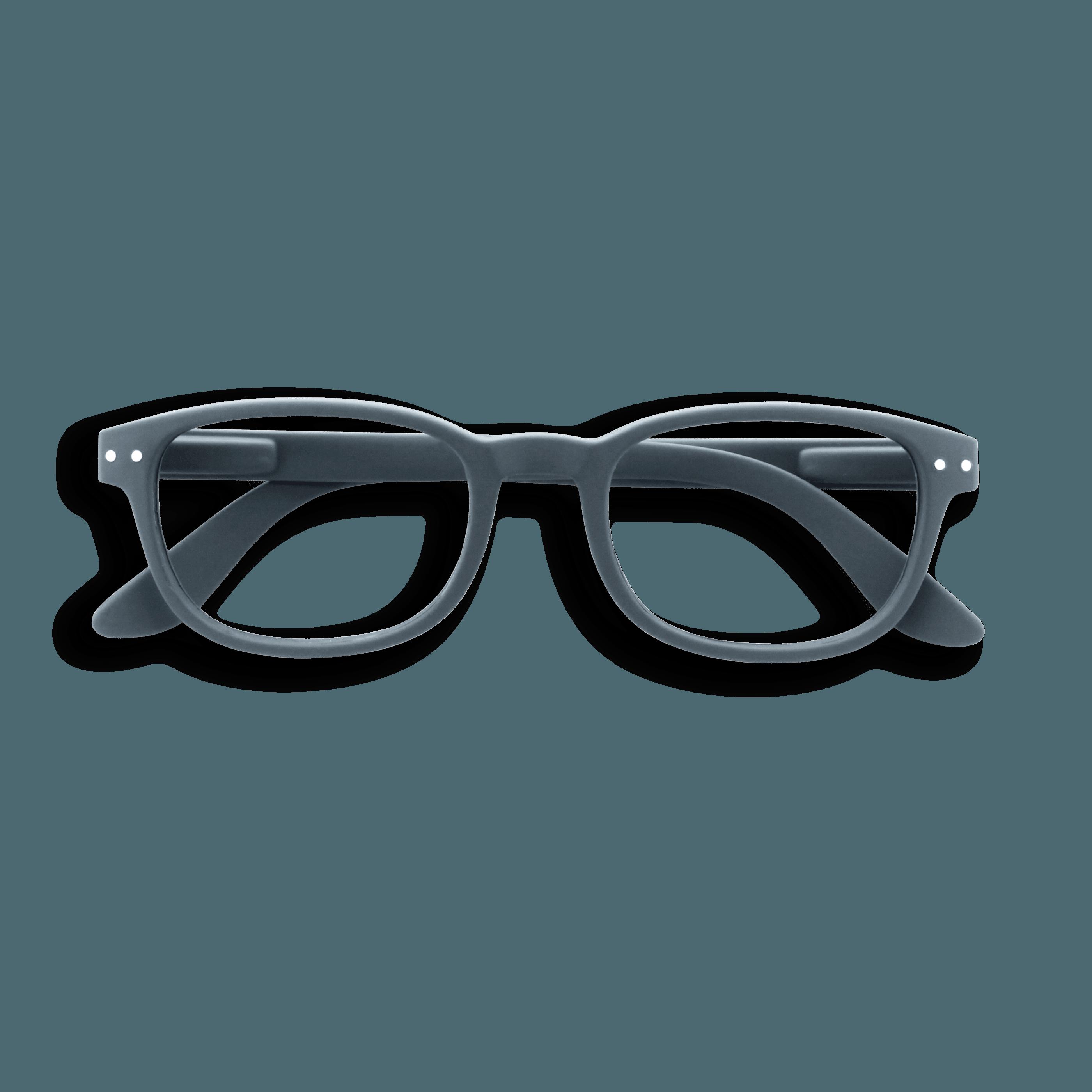 Izipizi #B Reading Glasses(Spectacles)Grey