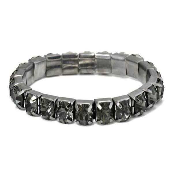 Black Quartz Effect Jewel Bracelet