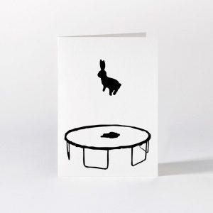 Bouncing Rabbit Card