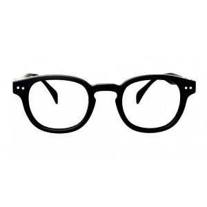 Izipizi #C Reading Glasses(Spectacles)Black Soft