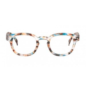 Izipizi #C Reading Glasses (Spectacles) in Blue Tortoise