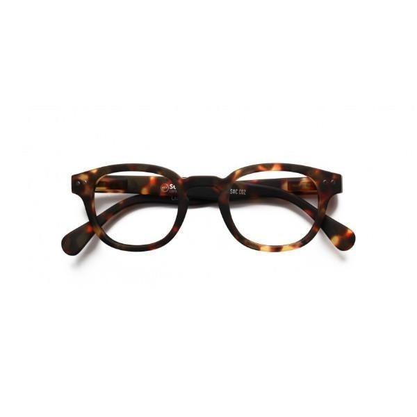 Izipizi #C Reading Glasses (Spectacles) in Light Tortoise