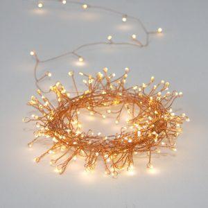 Copper Cluster Novelty String Lights