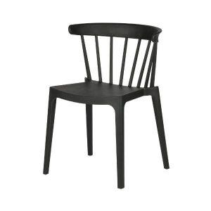 Bliss Bars Plastic Chair - black