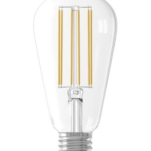 E27 LED Rustic Shape Bulb Clear