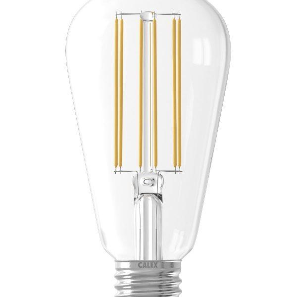 E27 LED Rustic Shape Bulb Clear