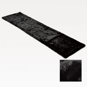 Fake Fur Runner Black