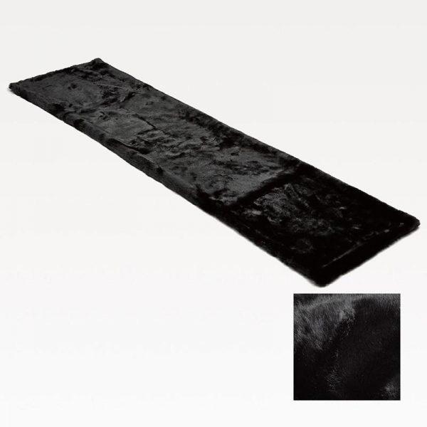 Fake Fur Runner Black