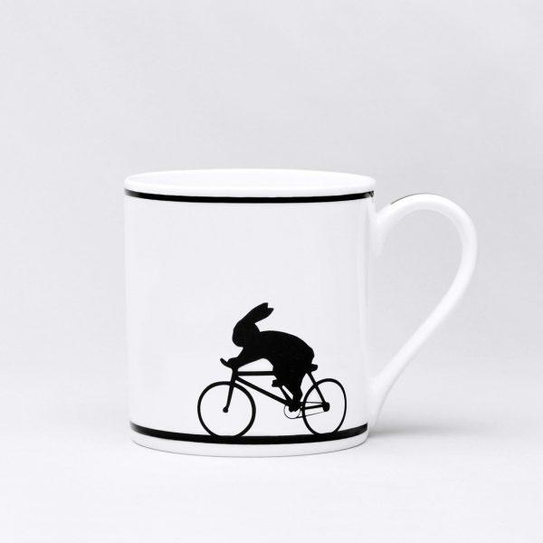 Cycling Rabbit Mug by Ham