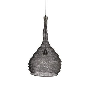 Grey Mesh Pendant Lamp