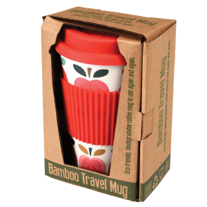 Bamboo Vintage Apple Travel Mug