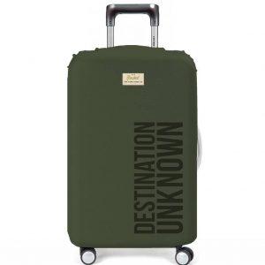 Destination Unknown Luggage Cover