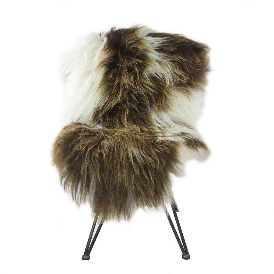 Icelandic Natural Mixed Sheepskin Rug