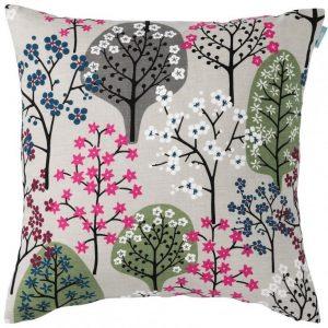 Haga Tree Print Cushion