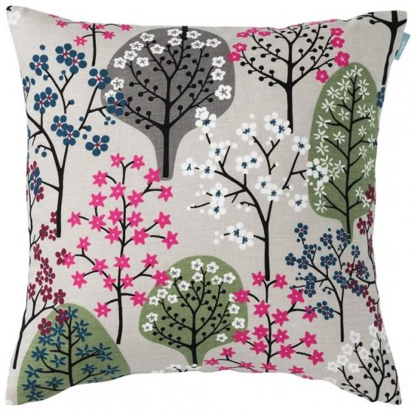 Haga Tree Print Cushion