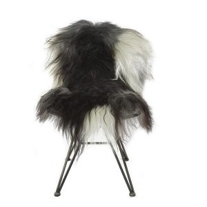 Icelandic Sheepskin Rug Natural Spotted