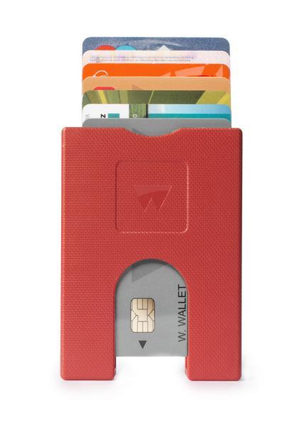 Walter Wallet Cards Holder Red