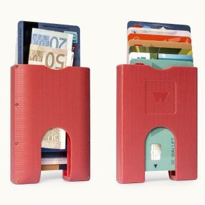 Walter Wallet Cards Holder Red