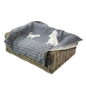 Dog blanket 'woof-woof' – Large