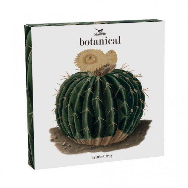 Botanical Large Trinket Tray - Cactus