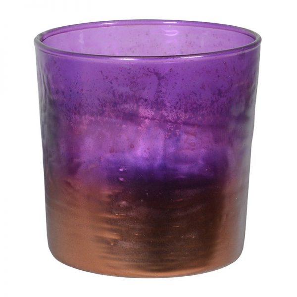 Small Ultraviolet Purple Candleholder