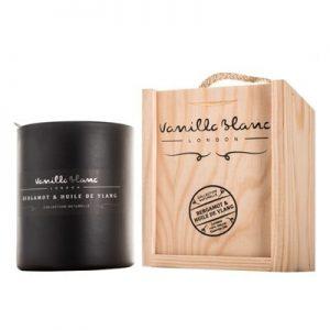 Vanilla Blanc Soy Candle Bergamot