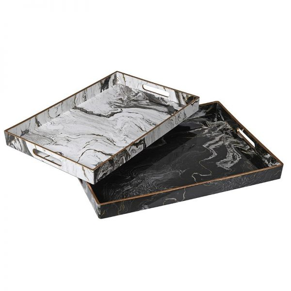 Marble Effect Tray