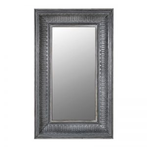 Rectangle Patterned Wall Mirror