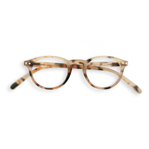 Izipizi #A Reading Glasses Light Tortoise Soft