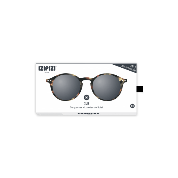 Izipizi #D Sunglasses Tortoise with Grey Lenses