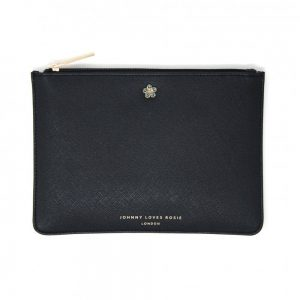 Johnny loves Rosie Vegan Pouch Black