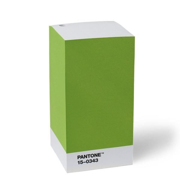 Green 343 Pantone Note Pad