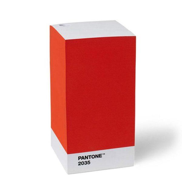 Red 2035 Pantone Note Pad
