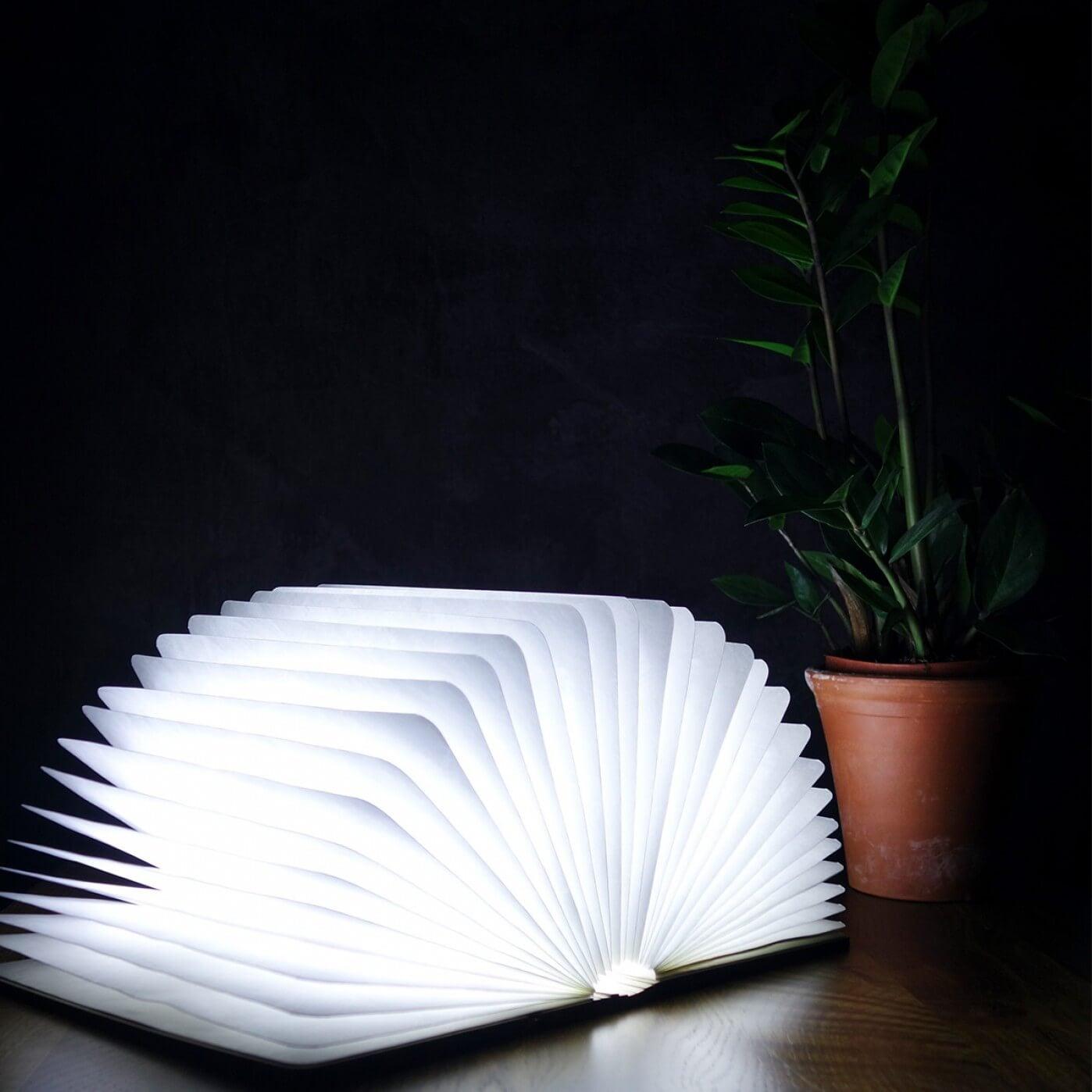 Walnut LED Smart BookLight